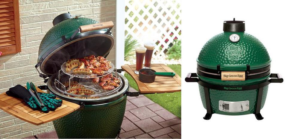 With a cult following, Big Green Egg makes super efficient and very high quality kamado cookers in seven sizes. BIG GREEN EGG .jpeg